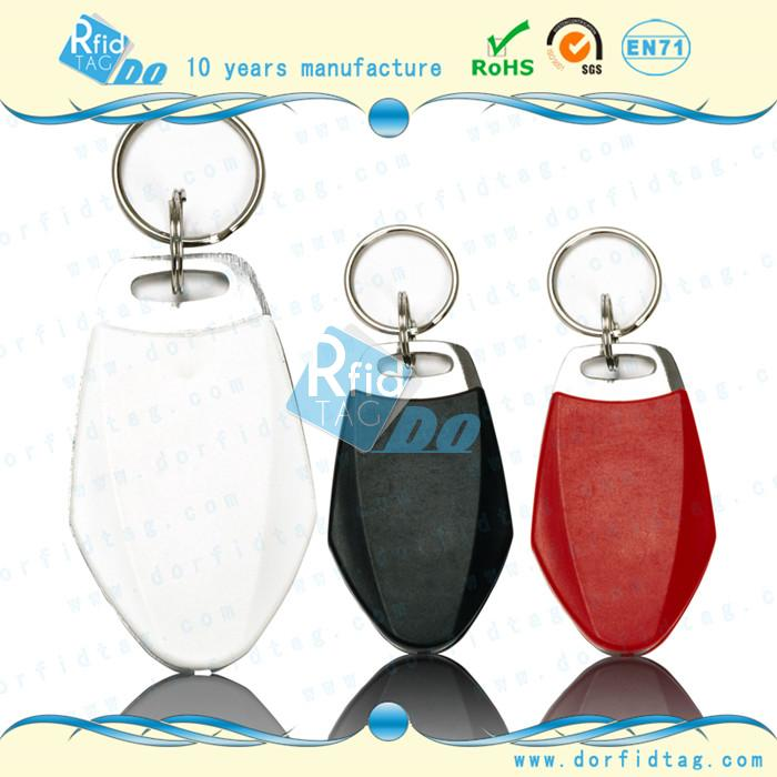 Classic 13.56Mhz HF RFID keychain for loyalty managment