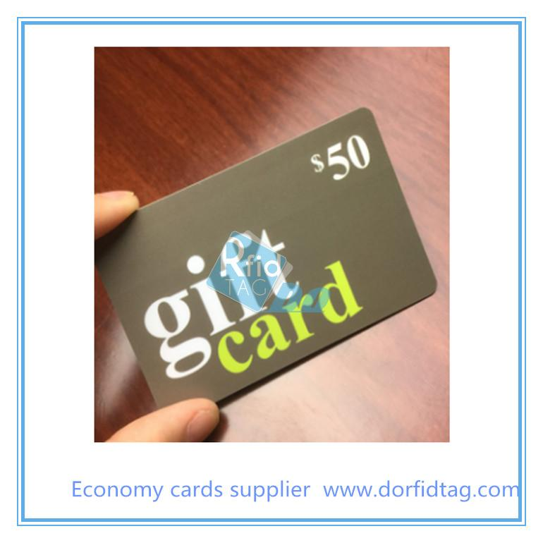 Custom Plastic Gift Card