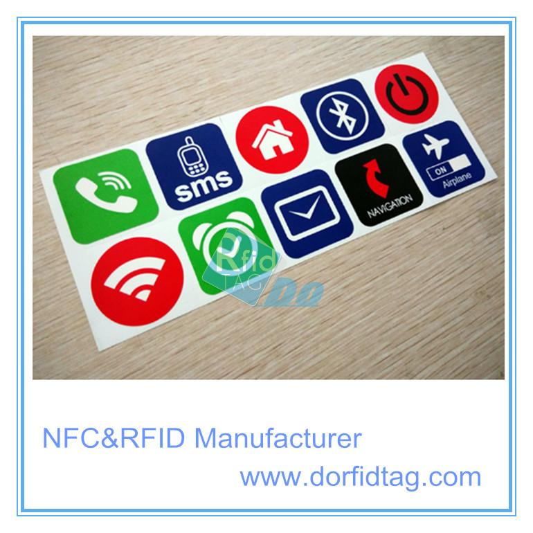 Dia26MM Printable Ntag215 Soft PVC NFC Tag