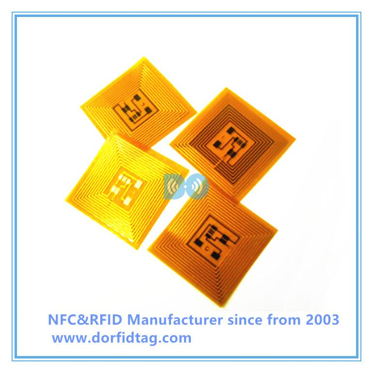 NTAG 213 FPC tiny copper FPC RFID Tag  inlay tag
