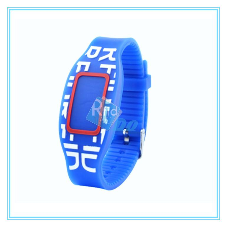 Festival bracelets  wristbands for events  with microchip chip rfid tickets rfid wristband system