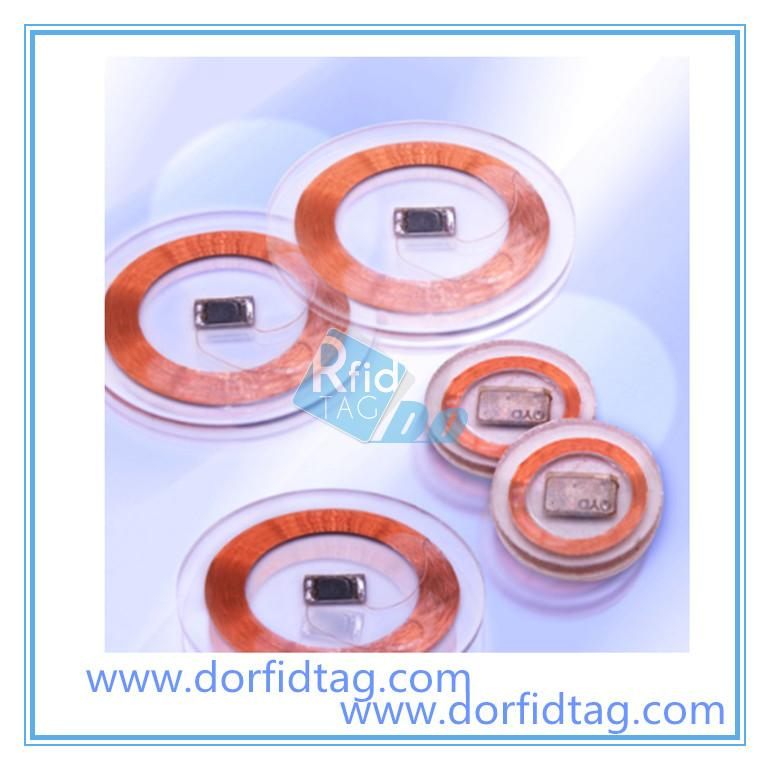 ISO 15693 transponder RFID clear tag