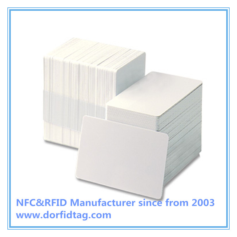 MIFARE CLASSIC 1K (MF1ICS50) white PVC card with HICO 4000OE