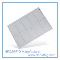 MIFARE Ultralight EV1 chip card inlay for ticket system