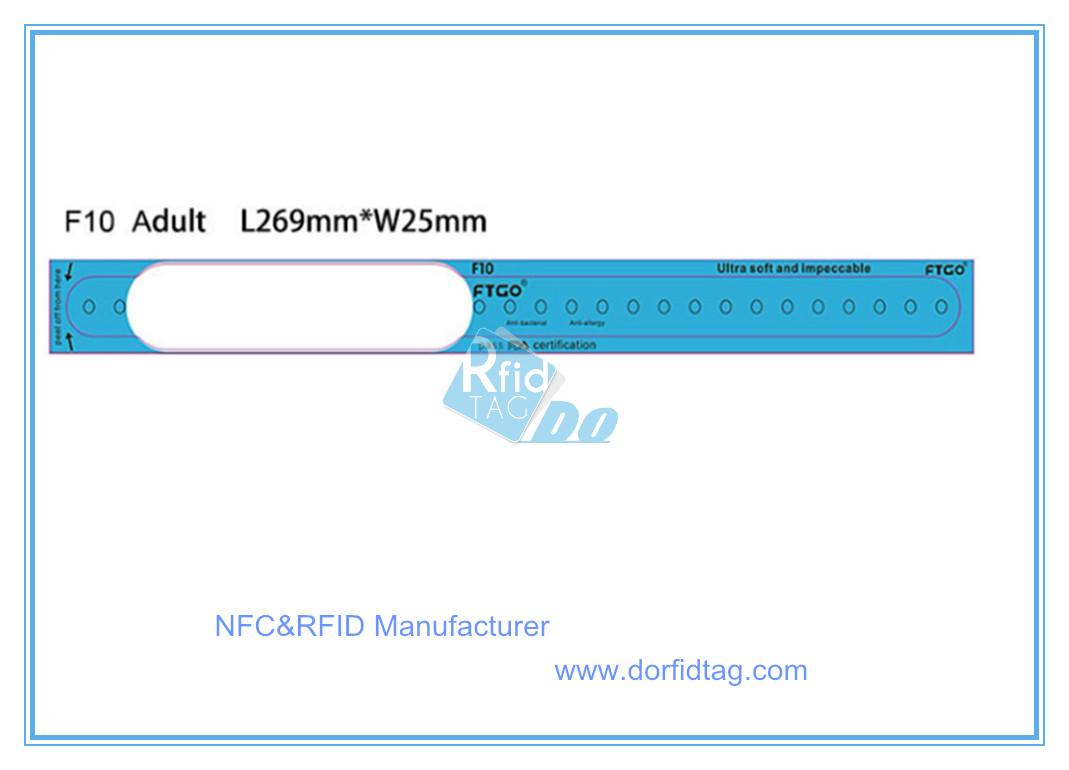 photograph about Printable Wristband known as Function Get to Regulate MIFARE Ultralight C Disposable thermal
