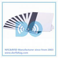 Magnetic stripe cards inclduing special protective overlay to guard against scratching