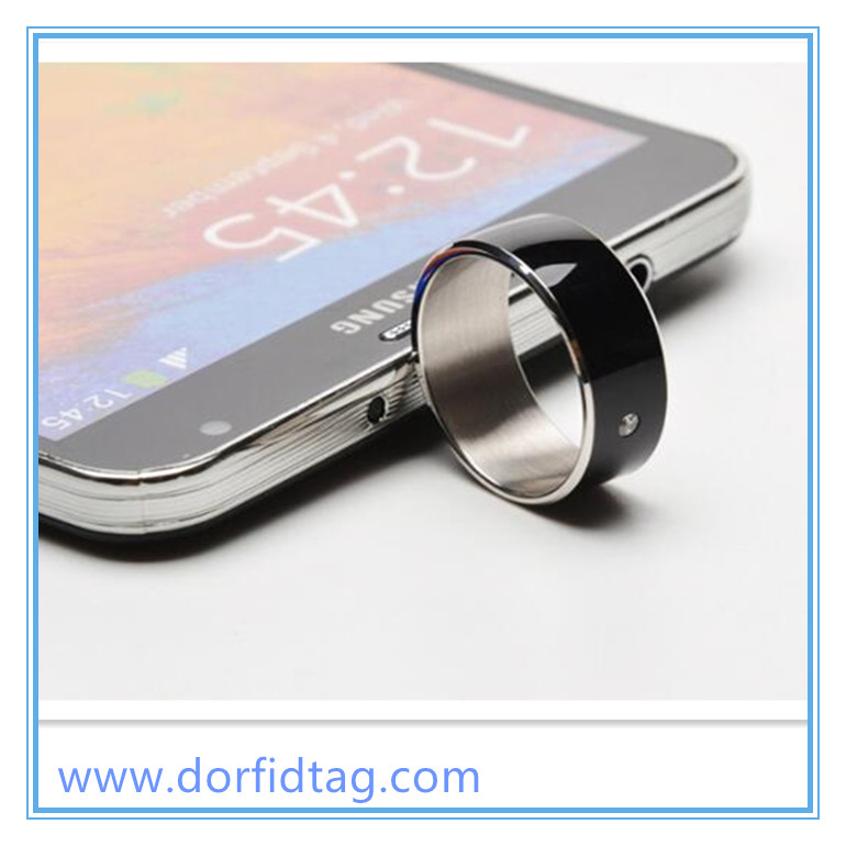 NFC Smart  Ring share  public information with friends
