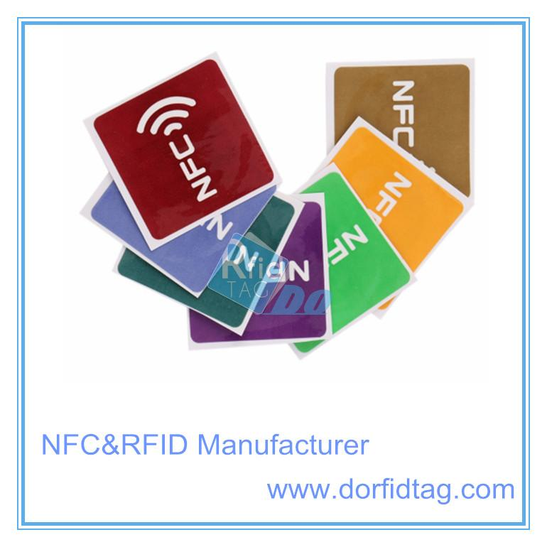 Type 2 NTAG213 NFC on metal tag