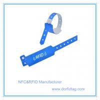 Bars / Night clubs access control NTAG213 full color paper NFC wristband