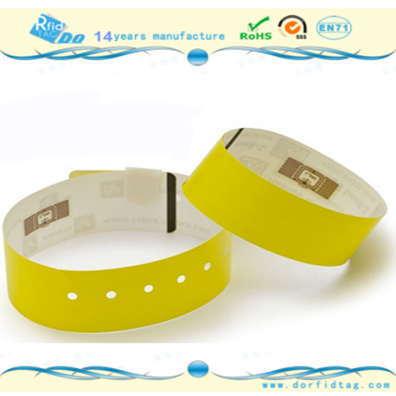 NTAG213 Paper NFC Wristband