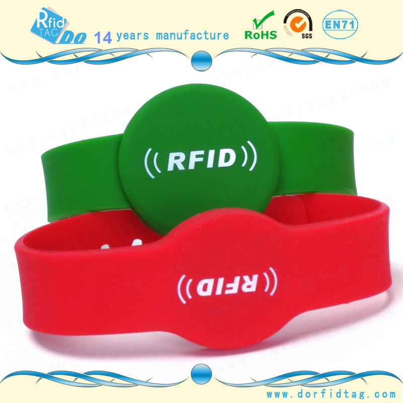 NTAG213 Silicone NFC Wristband