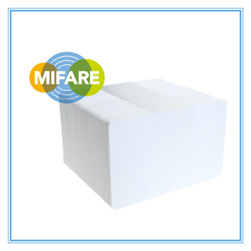 MIFARE PLUS S 1K card manufacturer, 4 BYTE UID card company, blank gloss PVC card supplier