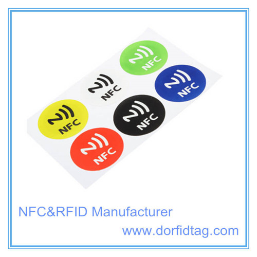 NXP NTAG 413 DNA temper Sticker NXP NTAG 413 DNA label maufacturer