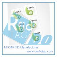 Ntag216 PET NFC smart tag with UID printing