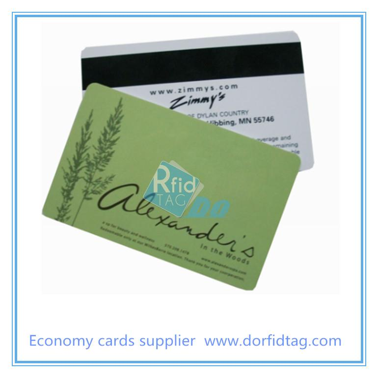 Printed Plastic Card