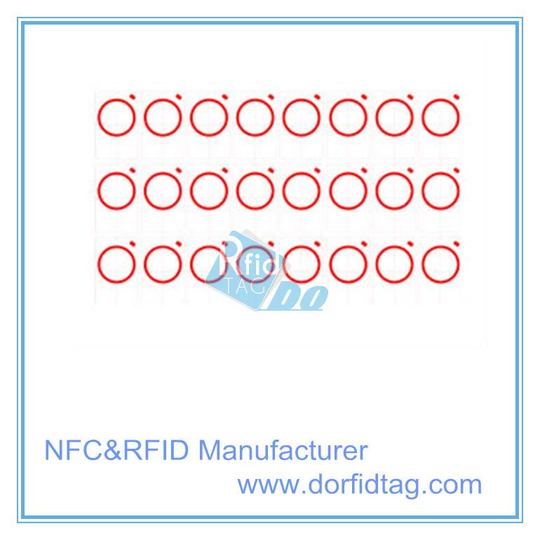 Proximity RFID 125KHz TK4100 Inlay prelam Sheet For Low Frequency ID Card