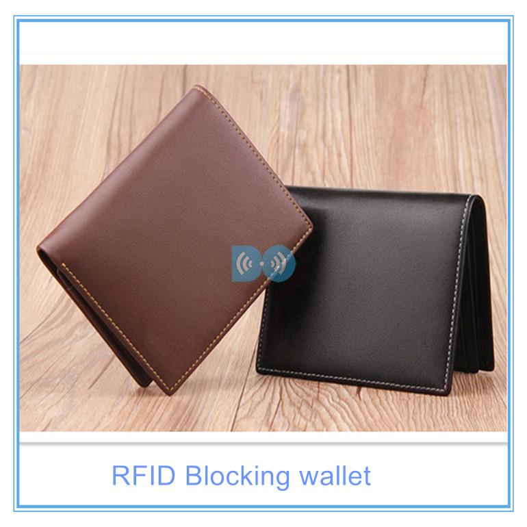 Wallet with card protection secured credit card wallet