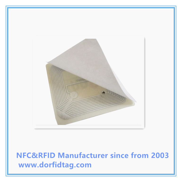 RFID Fragile Anti tamper Label Tamper proof  RFID tag