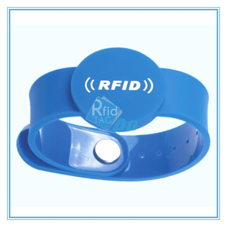 RFID silicone wristband  wristbands for events  RFID13.56 mhz rfid tracking system