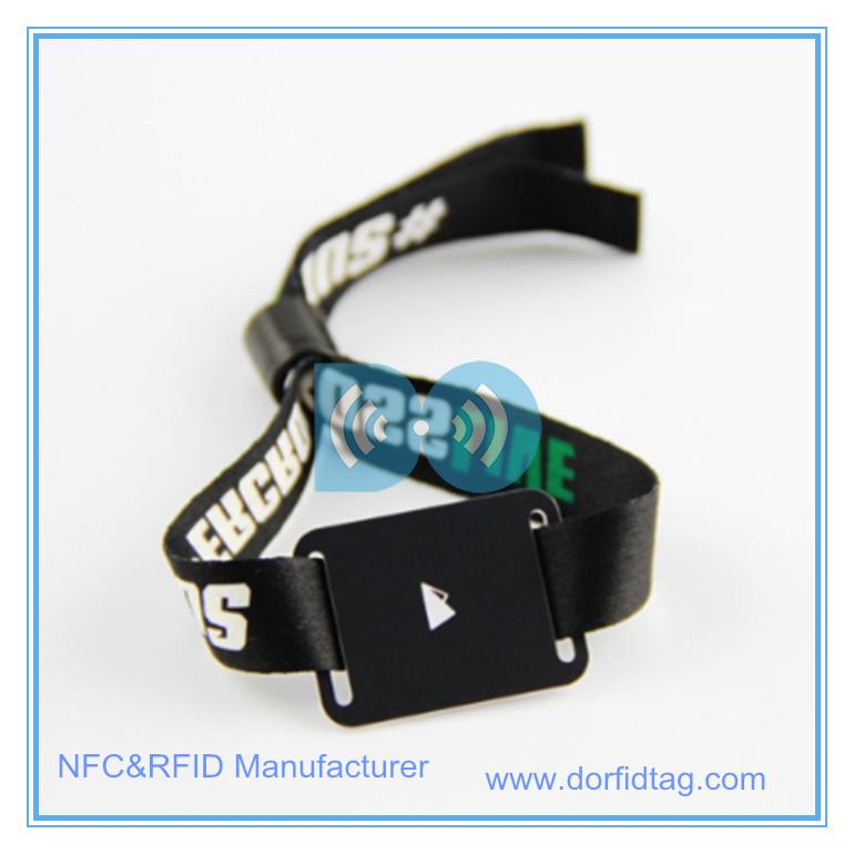 Festival wristband wristbands for festivals  iso 15693 rfid tags Wristband  industrial rfid