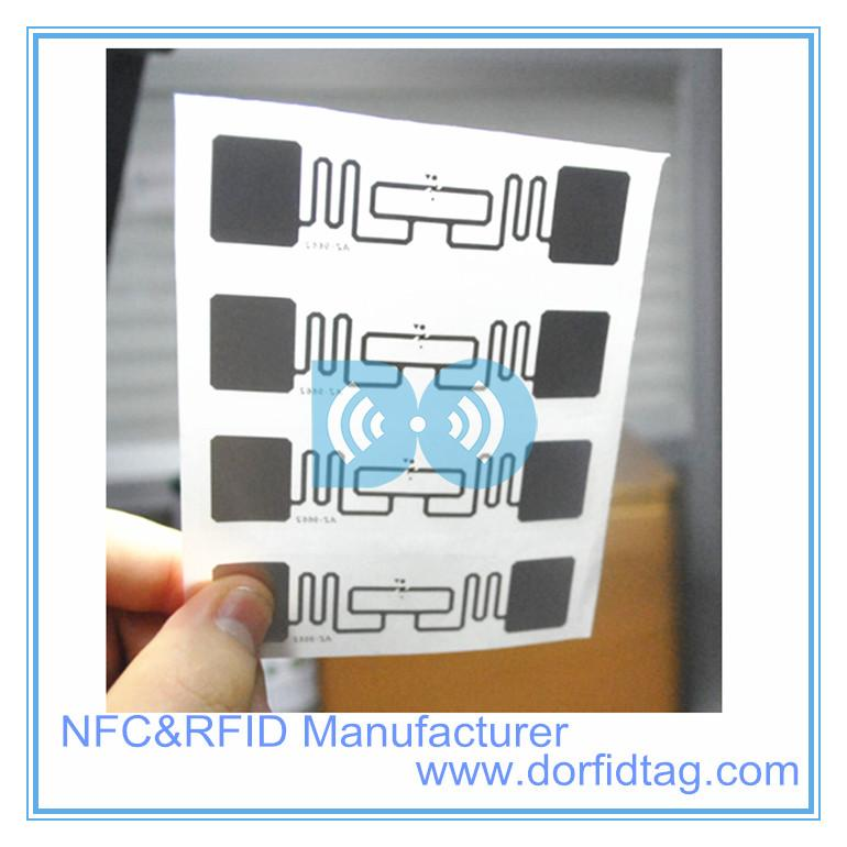 UHF RFID Label smart label low cost passive warehouse managenment sticker