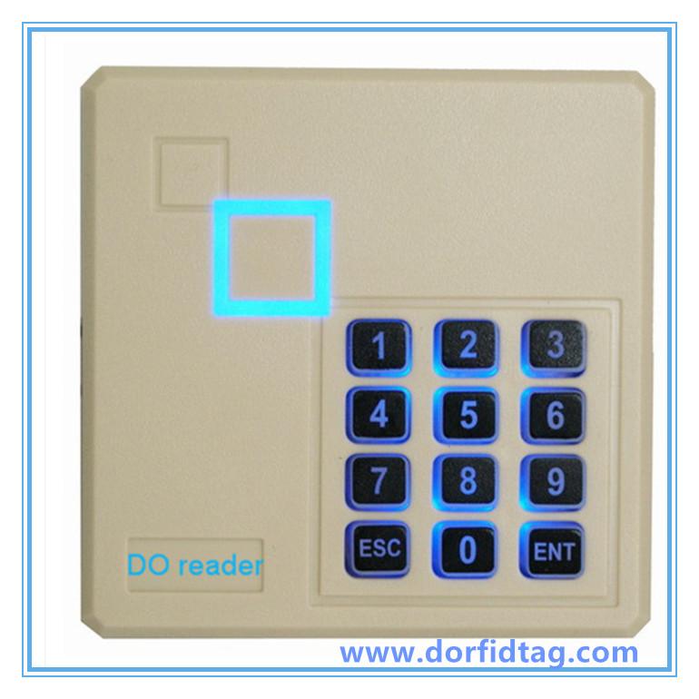Waterproof Wiegand Output Keypad EM/Mifare classic card reader - D O