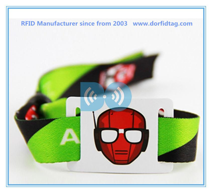 buy rfid   rfid radio frequency identification wristband   festival rfid band