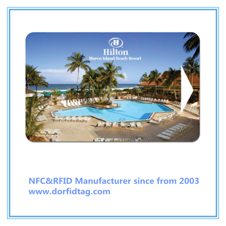 RFID hotel key card door lock cards hotel room key card