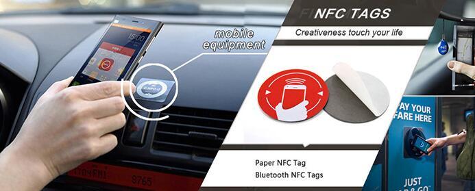 PVC NFC sticker TAG NTAG215 Samsung Nokia Sony LG HTC