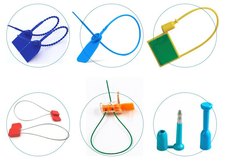 UHF Cable passive RFID zip tie seal tag - D O RFID TAG company