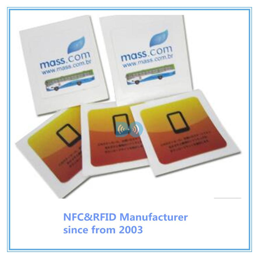 PVC NFC sticker TAG NTAG215 Samsung Nokia Sony LG HTC Android