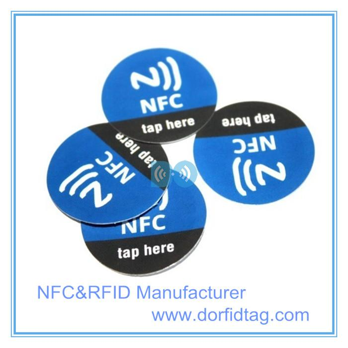 NTAG 215 smart RFID nfc anti-metal tags for Android Mobile phone