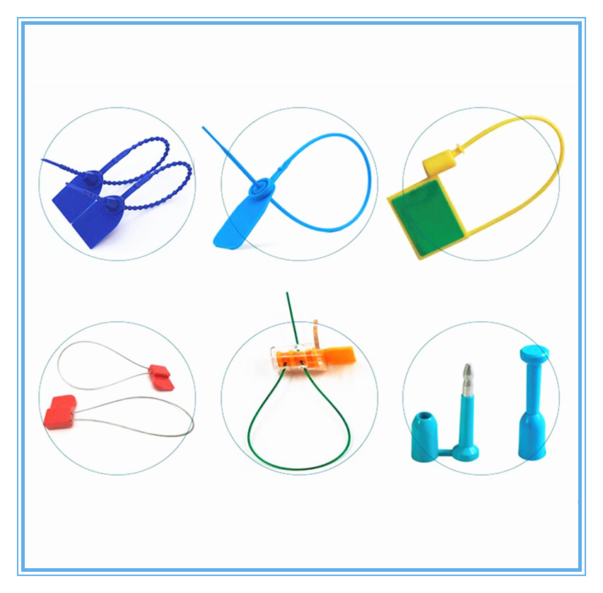 UHF Cable passive RFID zip tie seal tag