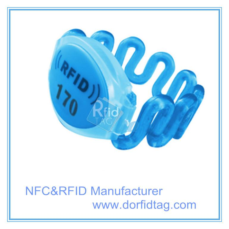 rfid bracelet nfc wristbands for events with  ntag213 nfc antenna nfc means
