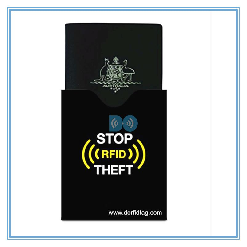 RFID passport sleeve RFID blocking passport wallet  rfid blocking passport holder