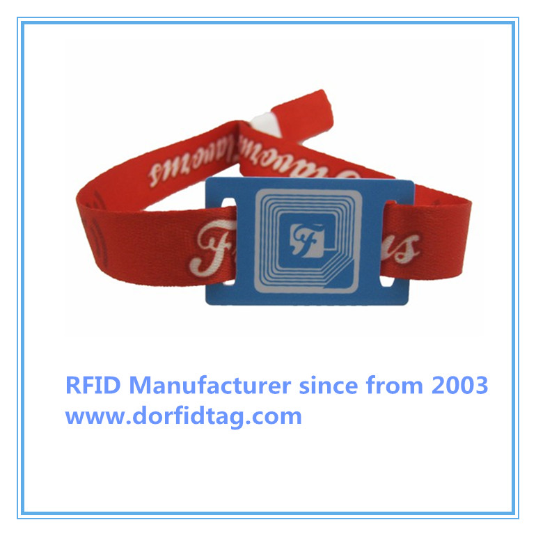 NTAG 210 event wristbands party wristbands fabric wristbands