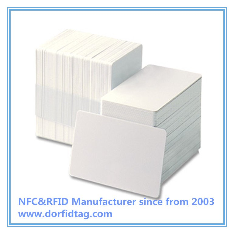 MIFARE DESFIRE EV1 4K WHITE PVC CARD WITH HI-CO 2750OE