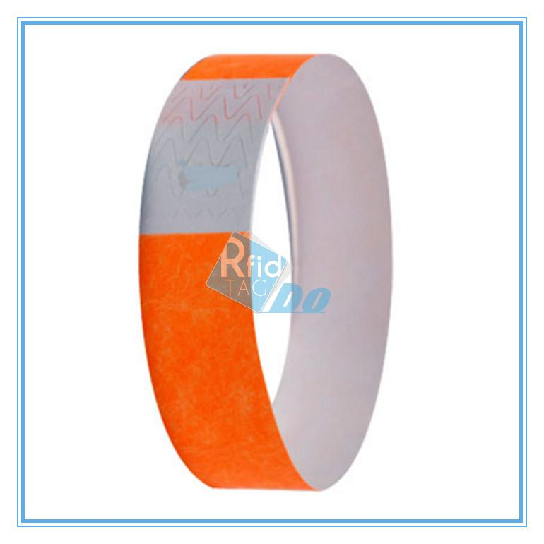 RFID Hospital  Wristband Paper Tyvek Thermal Printable RFID Wristbands