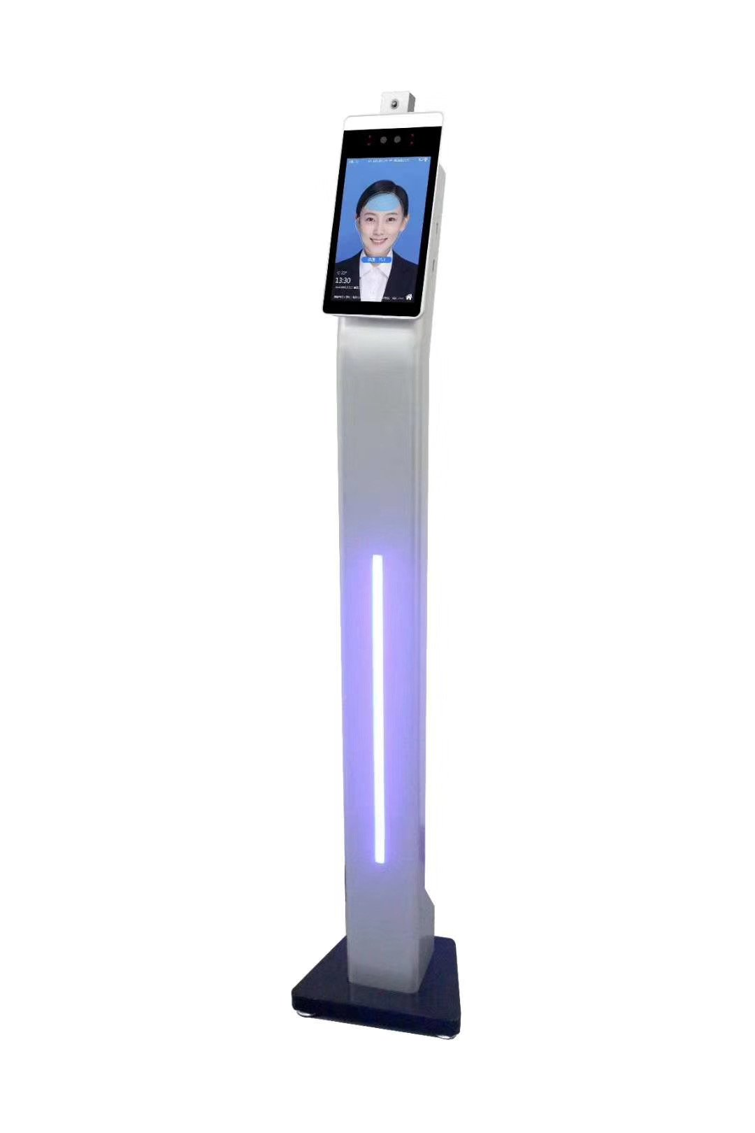 Face recognition temperature measurement terminal temperature kiosk temperature scanning kiosk